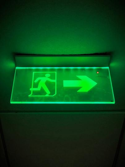 Uitgangsbord